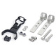 Hebie Fixing Set For mud guard 0742/0761 black/silver